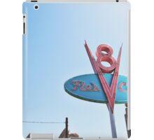 Flo's Cafe In DCA  iPad Case/Skin