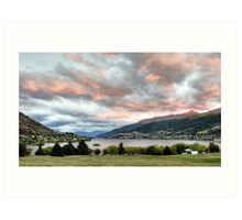 Early Morning in Queenstown Art Print