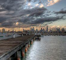 St Kilda Pier by Alexandre Barreto