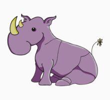 Rhinoceros One Piece - Long Sleeve