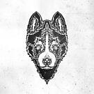 Dog black by TanyaTish