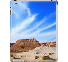 Eroded cliffs Israel, Dead Sea iPad Case/Skin