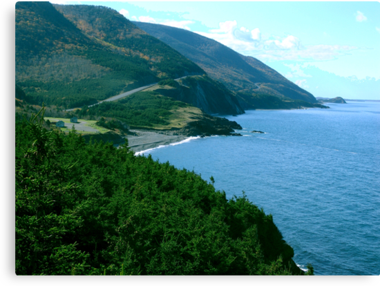 Cap Rouge, Cape Breton Island by George Cousins