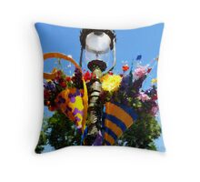 The Happiest Bouquet on Earth Throw Pillow