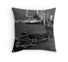Piles On The Iron-Sands Throw Pillow