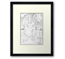 Alpha Male Framed Print