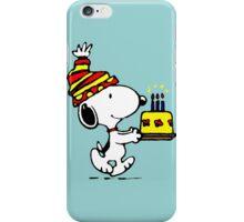 Happy birthday Snoopy iPhone Case/Skin