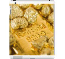 fine gold  iPad Case/Skin