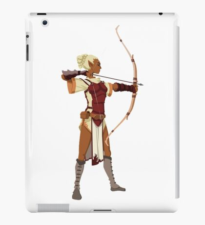 Female RPG Archer iPad Case/Skin
