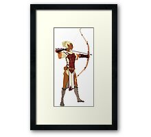 Female RPG Archer Framed Print