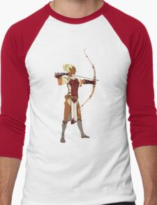 Female RPG Archer Men's Baseball ¾ T-Shirt