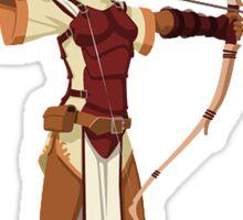 Female RPG Archer Sticker