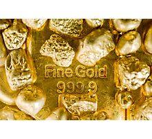 fine gold  Photographic Print
