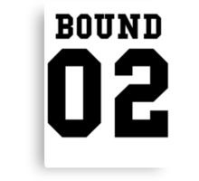 Bound 02 PYREX (black text) Canvas Print
