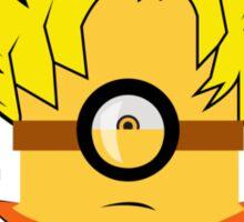MInion Goku Is Here Sticker