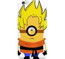 MInion Goku Is Here iPhone Case/Skin