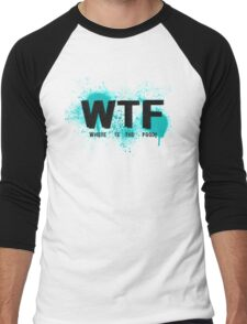 WTF Men's Baseball ¾ T-Shirt