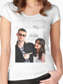 Matt and Jenna Women's Fitted Scoop T-Shirt