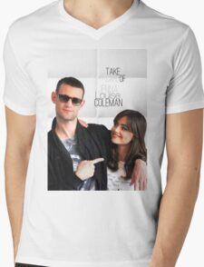 Matt and Jenna Mens V-Neck T-Shirt