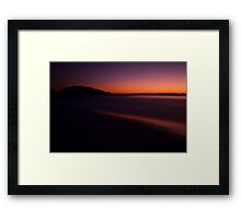 Sunset......... Framed Print