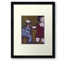 Hello Sailor  Framed Print