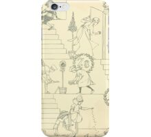 The Buckle My Shoe Picture Book by Walter Crane 1910 12 - One Through Ten Inner Cover iPhone Case/Skin