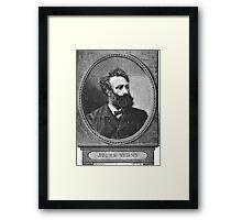 Jules Verne Framed Print