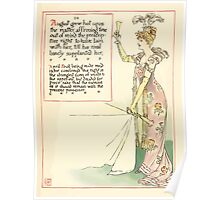 A Masque of Days - From the Last Essays of Elia 1901 illustrated by Walter Crane 31 - August, April Fool Poster