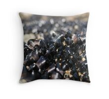 Baby Mussels  Throw Pillow