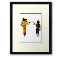 The bro force Framed Print