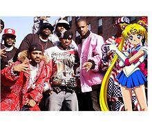Dipset x Sailor Moon x Clique by CliqueOne