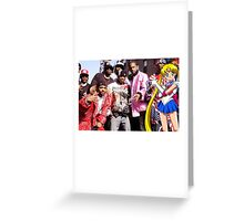 Dipset x Sailor Moon x Clique Greeting Card
