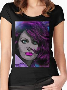 TIMELESS BEAUTY Women's Fitted Scoop T-Shirt