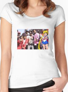 Dipset x Sailor Moon Women's Fitted Scoop T-Shirt