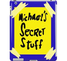 Michael's Secret Stuff - Space Jam Bottle  iPad Case/Skin