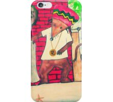Rasta Mouse resize improved version iPhone Case/Skin