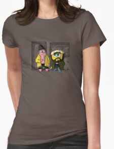 Pat and Silent Bob Womens Fitted T-Shirt