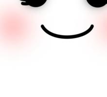 Horrifying Cute Ghost - Girl Sticker