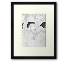 Disposable Male Framed Print