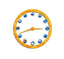funny clocks Photographic Print