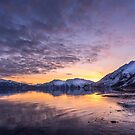 Valdez Sunset, Alaska by Dean Bailey
