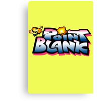 Point Blank Bang Bang Canvas Print