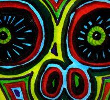 Rasta de Los Muertos. Sticker