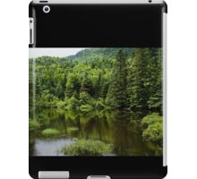 Forest Lake - Charlevoix, Quebec, Canada iPad Case/Skin