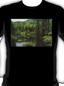 Forest Lake - Charlevoix, Quebec, Canada T-Shirt