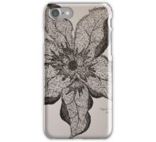 FLOWER ONE iPhone Case/Skin