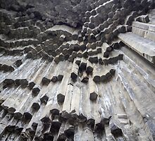 Basalt Rock columns formations by PhotoStock-Isra