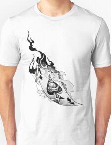 Flaming spades T-Shirt