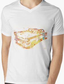 Cadillac Colorful Mens V-Neck T-Shirt