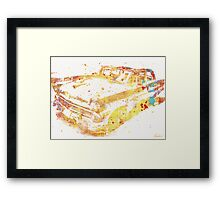 Cadillac Colorful Framed Print